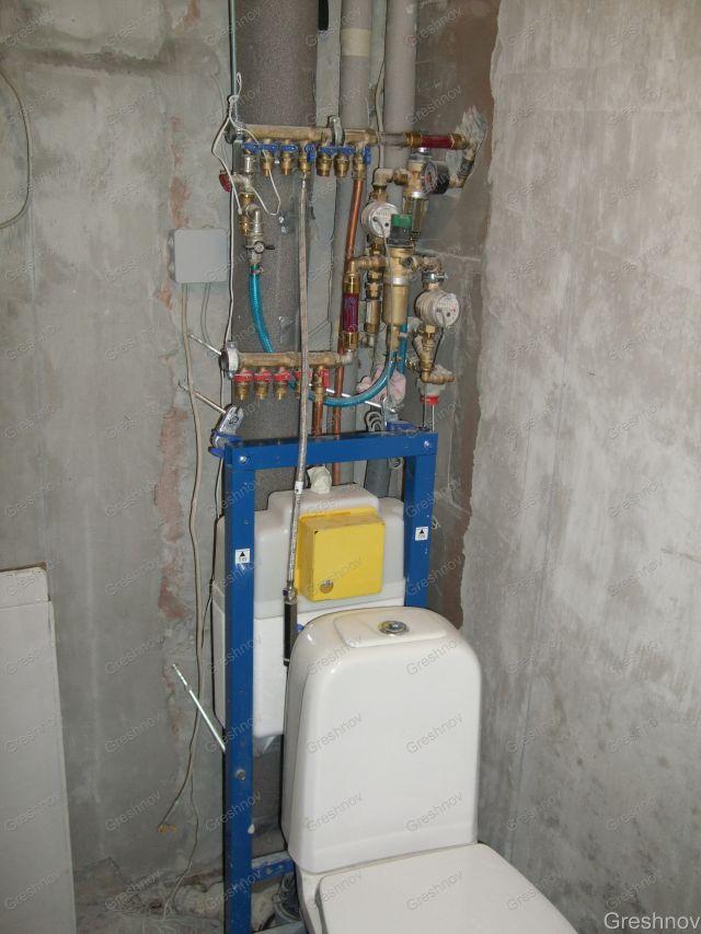 водопровода/отопления и