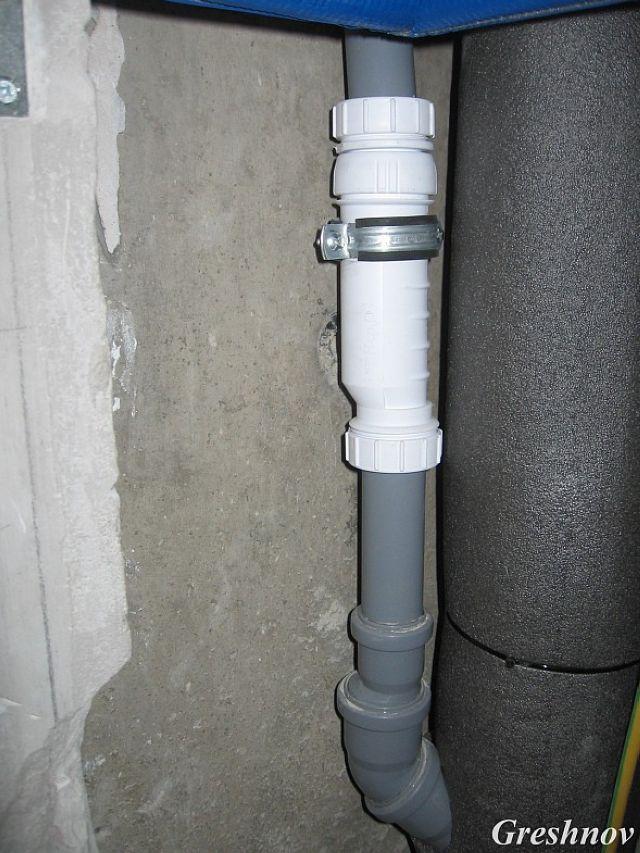 Гидрозатвор канализации своими руками 142