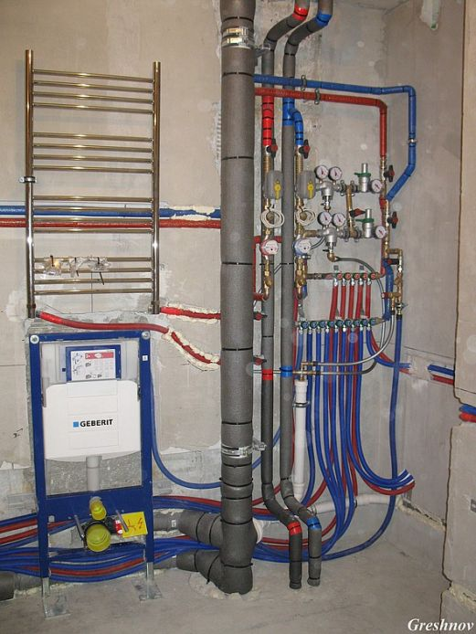 Водопровод своими руками в квартире 91
